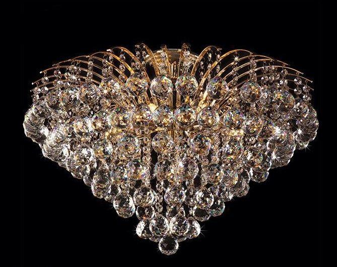 Роскошь и богатство дизайна хрустальных люстр