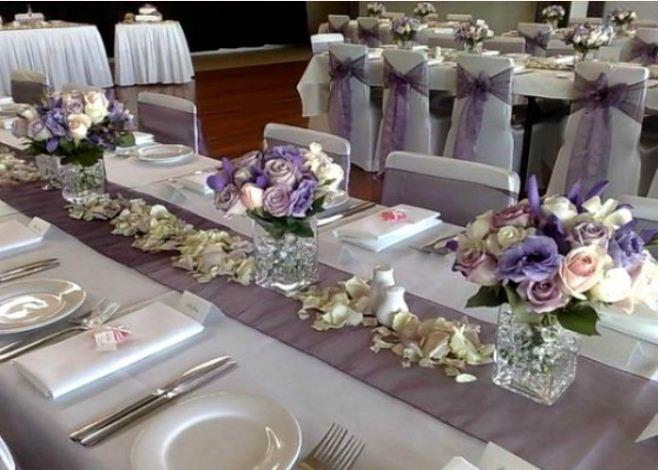 свадебный интерьер