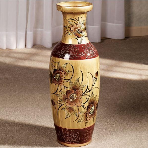 напольные вазы