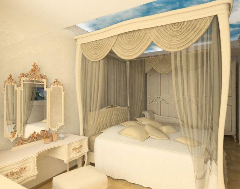 Фото балдахинов над кроватью своими руками 396