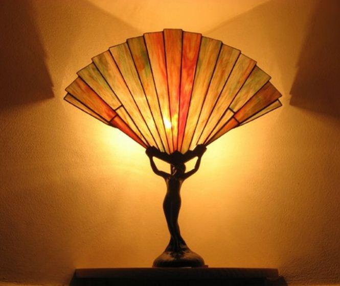 витражные светильники