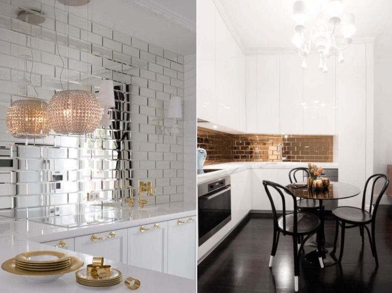 зеркала на кухню
