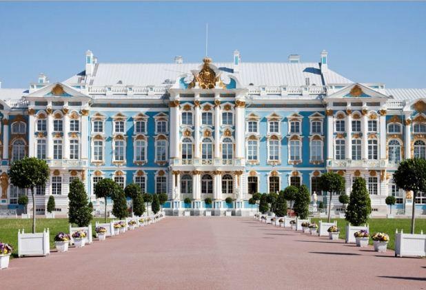 дворец в пушкине