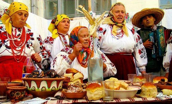 украинский интерьер