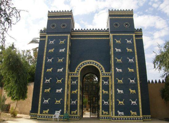 Ворота богини Иштар ( реконструкция)