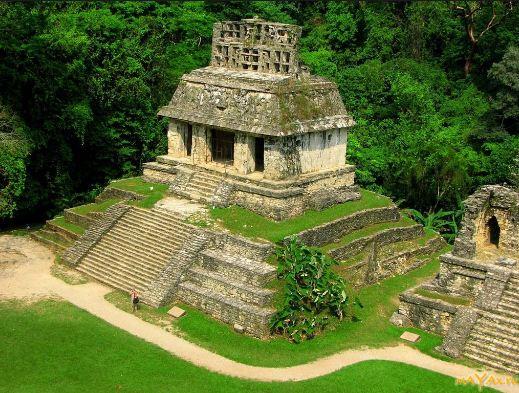 индейский храм