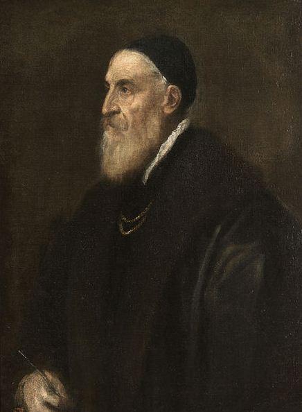 "Тициан Вечеллио "" Автопортрет"" ( около 1567 года)"