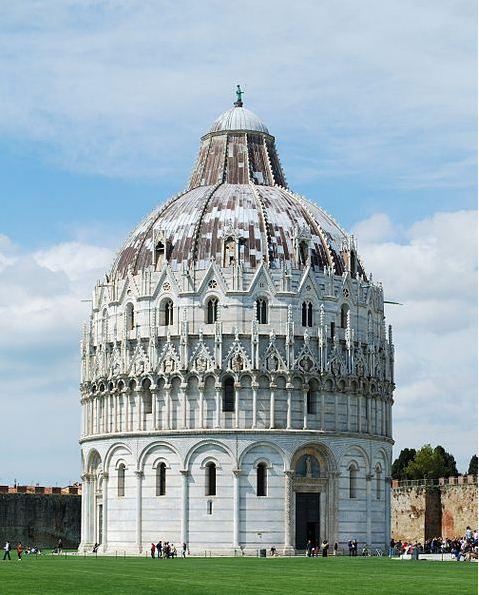 Баптистерий в Пизе