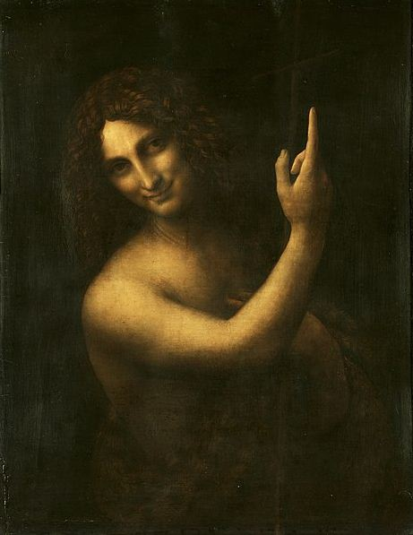 """Леонардо да Винчи. """" Иоанн Креститель"""""""
