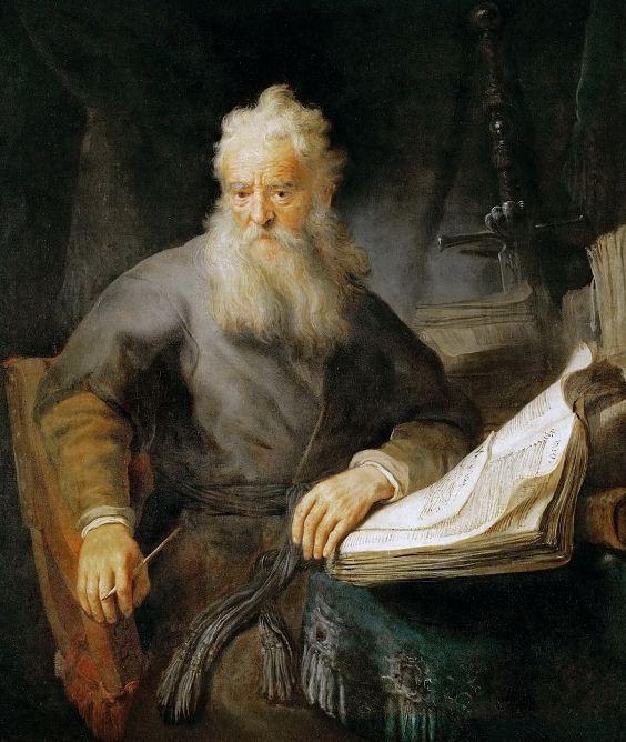 "Рембрандт "" Апостол Павел"""