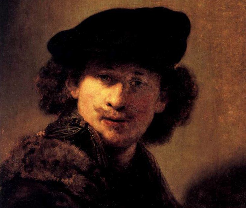 """Рембрандт """" Автопортрет"""" ( 1634 год)"""
