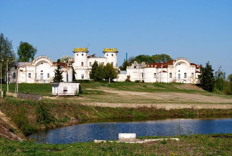 Дворец Румянцева - Задунайского в селе Вишенки
