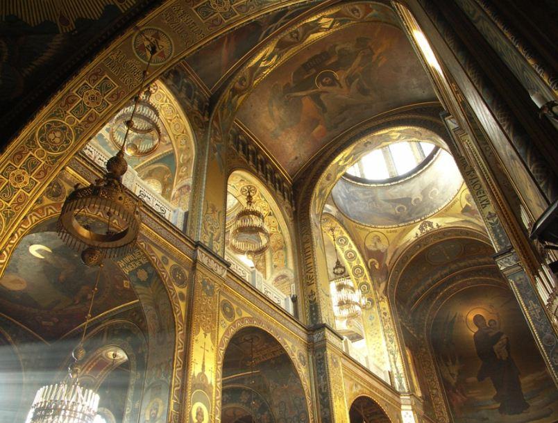 Интерьер Владимирского собора в Киеве