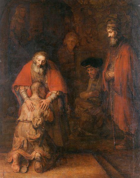 """Рембрандт """" Возвращение блудного сына"""""""