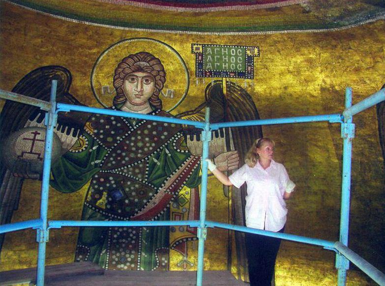 Мозаика архангела