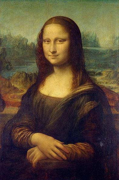"""Леонардо да Винчи """" Портрет Моны Лизы"""" ( """" Джоконда"""")."""