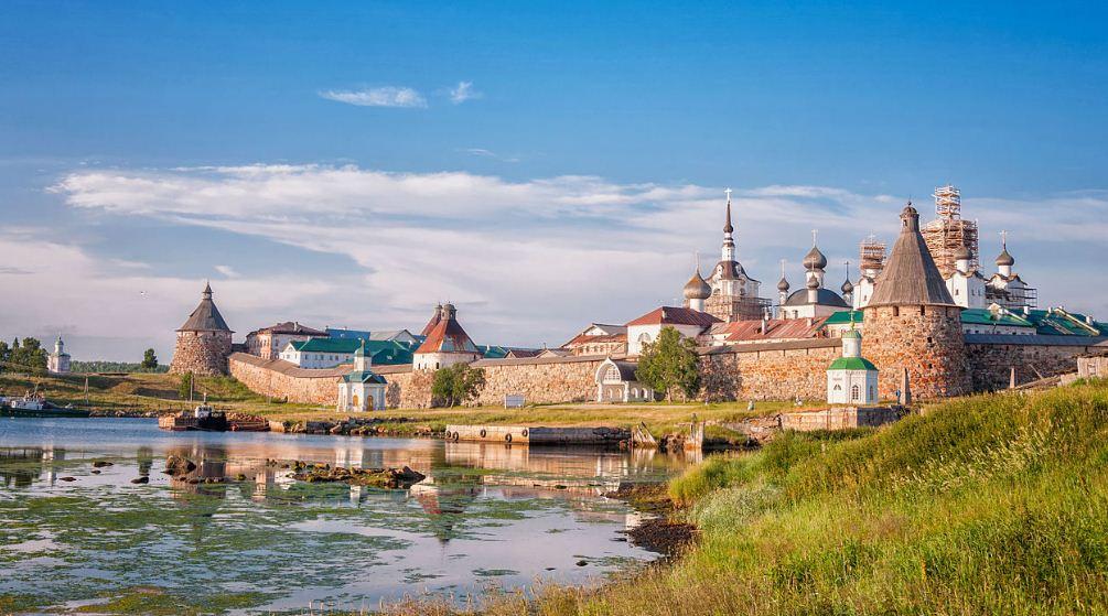 Крепостные башни Соловков