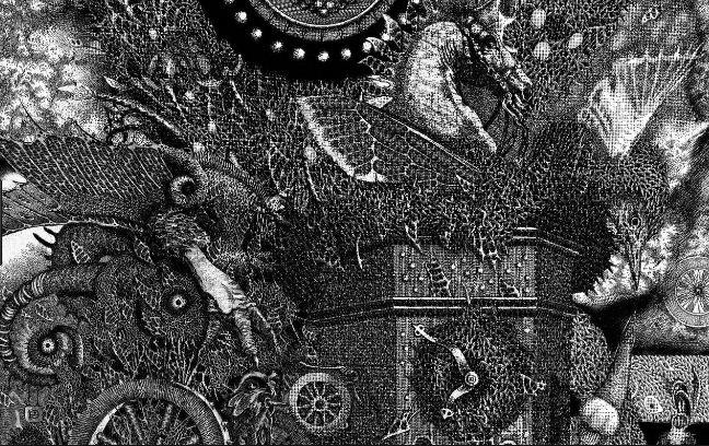 """Юрий Яковенко Иллюстрация к книге """" Дикая охота короля Стаха""""."""