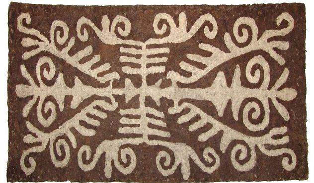 Казахский ковер из войлока