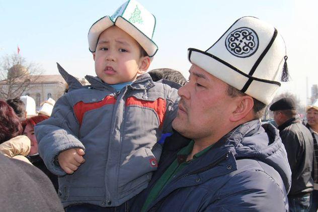 Киргизский колпак