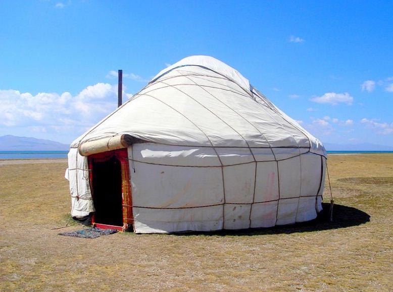 Киргизская юрта из войлока