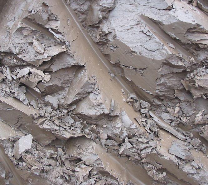 Глины четвертичного периода, найденные в Эстонии