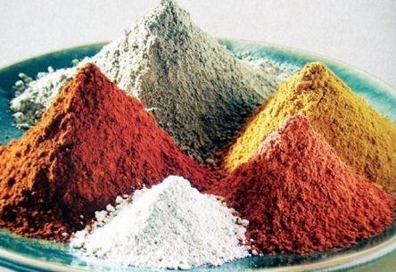 Варианты цветовых оттенков глины