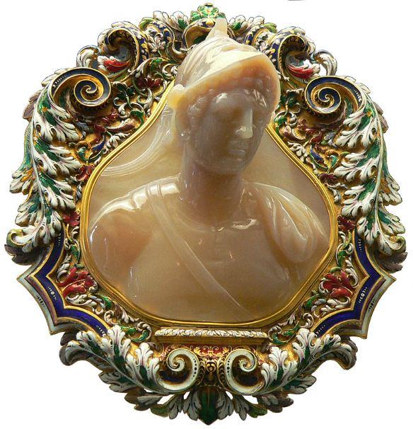 Камея с изображением Птолемея II.