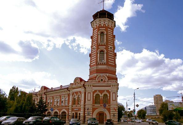 Пожарная каланча в Волгограде