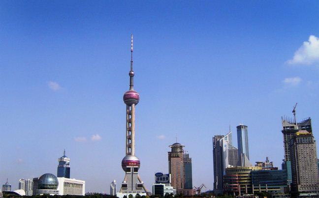 Телебашня в Шанхае