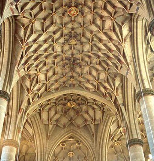Внутреннее оформление поверхности потолка и сводов