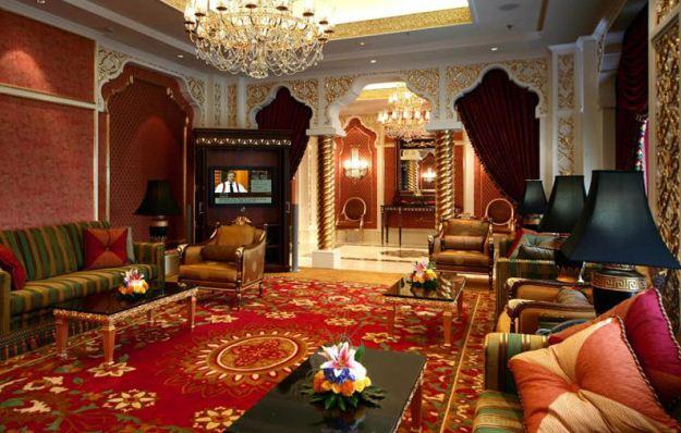 Изысканный интерьер в арабском стиле