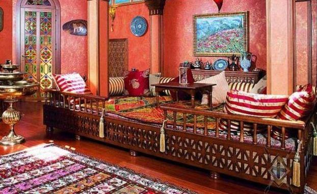 Яркие и сочне цвета для отделки в арабском стиле
