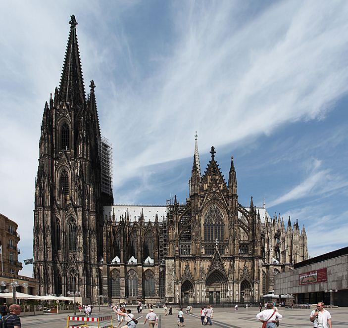 Католический собор в Кельне ( Германия)