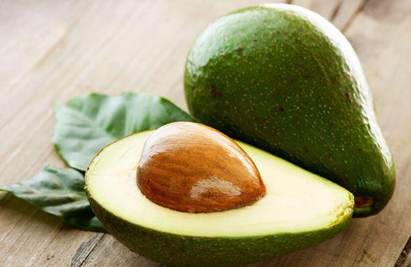 Окраска спелого плода авокадо