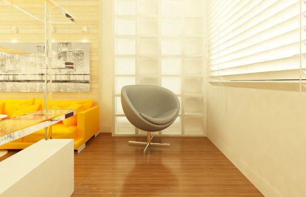 Яркие цвета и минимальное количество деталей характерны для современных интерьеров