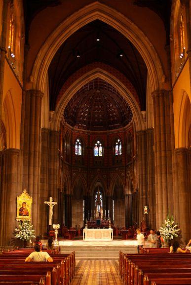 Интерьер Собора Святого Патрика