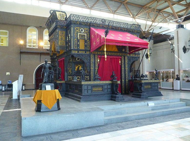 Павильон из чугуна в византийском стиле ( выставка 1900 года)