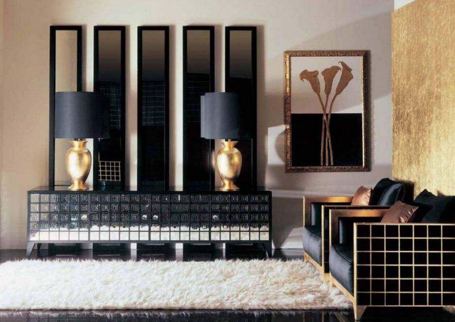 Осветительные приборы необычной формы в стиле арт - деко