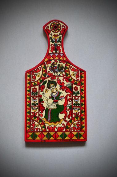 Пермогорская роспись в современном исполнении