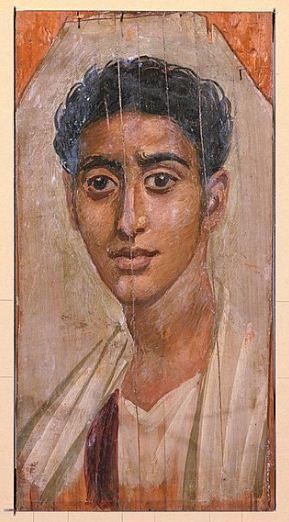 Портрет египтянина ( вторая половина I века нашей эры)