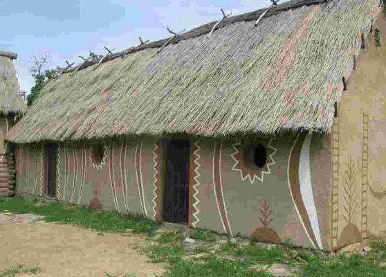 Образец сооружения Трипольской культуры