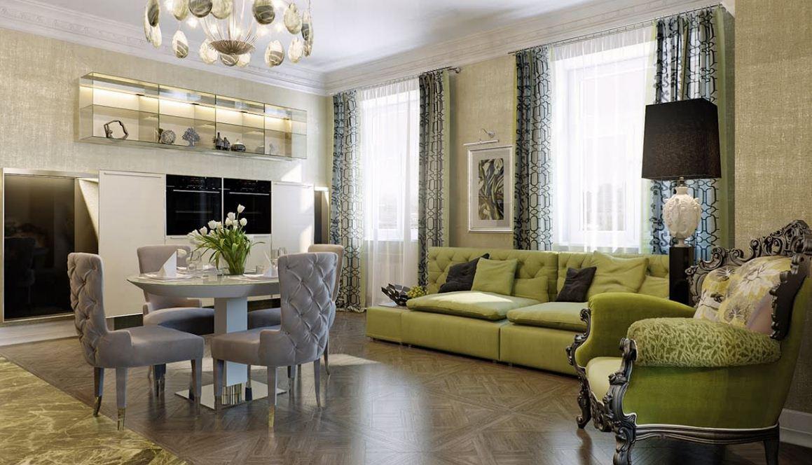 Дизайн интерьера в стиле арт - деко