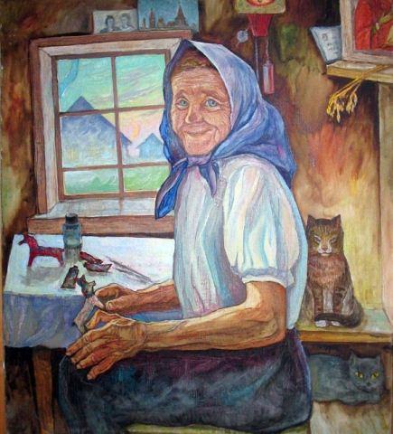 Портрет У. И. Бабкиной