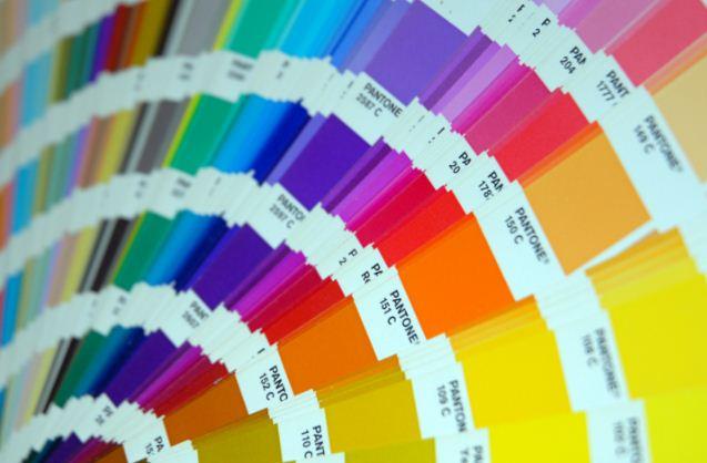 Цветовая гамма оттенков колеров
