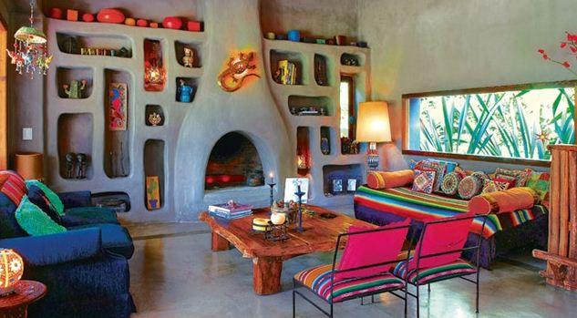 Для мексиканского стиля характерно обилие мелких декоративных деталей