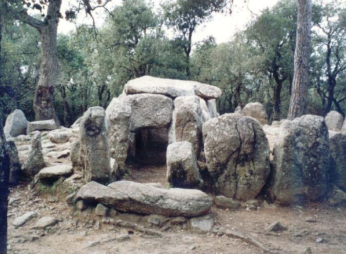 Дольмен в Испании