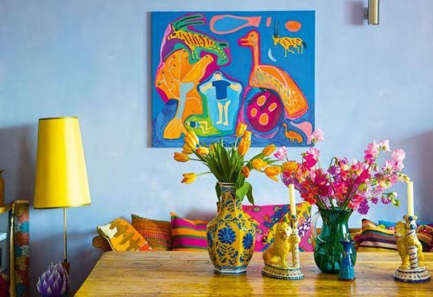 Яркие детали добавляют очарования мексиканской стилистике