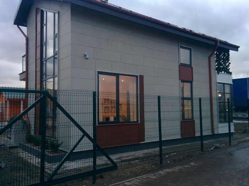 Дом из железобетонных панелей