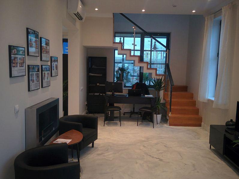 """Внутренняя отделка дома из железобетонных панелей """" Бэнпан"""""""